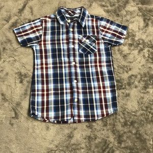 Tommy Hilfiger short sleeve button up shirt